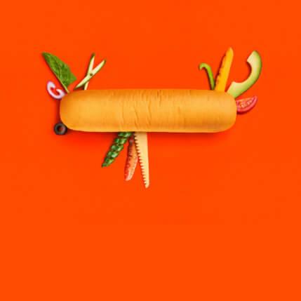 Du möchtest das perfekte Sandwich? Wir zeigen dir, wie's geht! Denn ein gutes Sandwich ist mehr als zwei belegte Brötchenhälften. Erfahre mehr ...