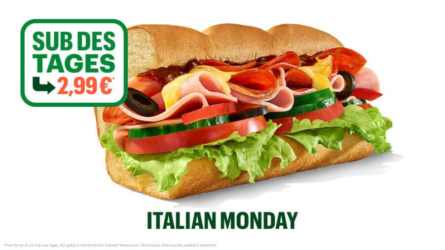 Subway - Sub des Tages - Italian BMT