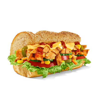 Subway - Sub des Tages - Chicken Fajita - Produkt