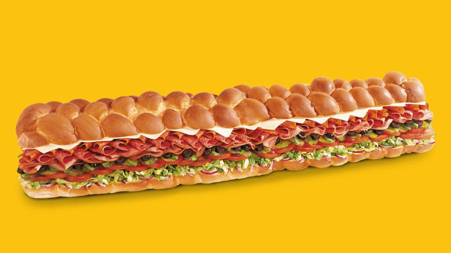 90 cm langes Giant Sub