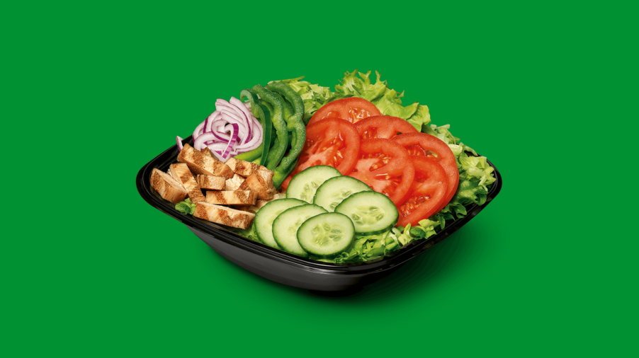 Subway - Salat Chicken Fajita