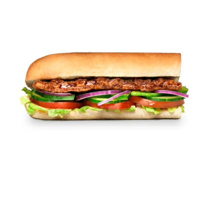 Subway Sandwich - BBQ Rib
