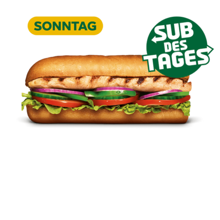 Subway Sandwich - Chicken Breast