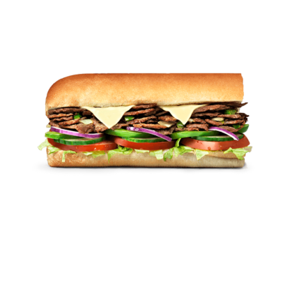 Subway Sandwich - Philly Beef & Cheese