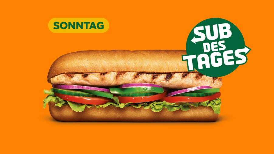 Subway Sandwich - Chicken Breast