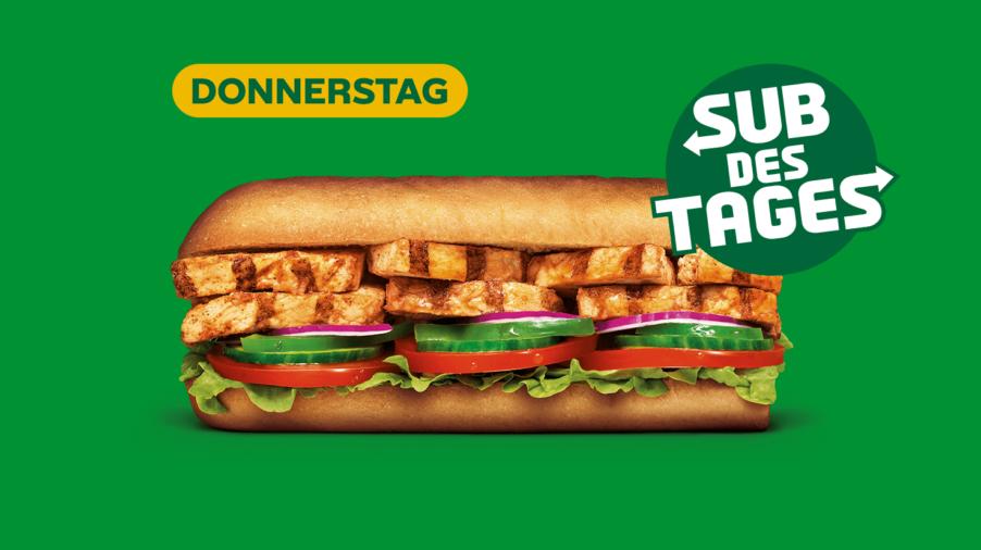 Subway Sandwich - Chicken Fajita