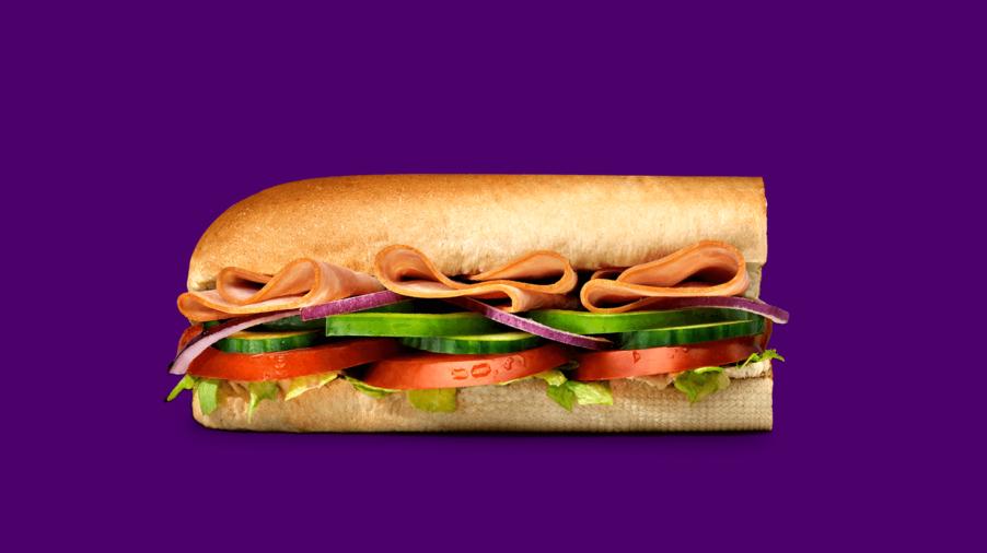 Subway Sandwiches - Ham