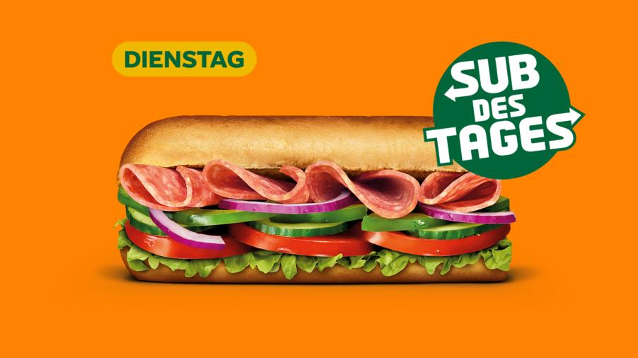 Subway Sandwich - Salami