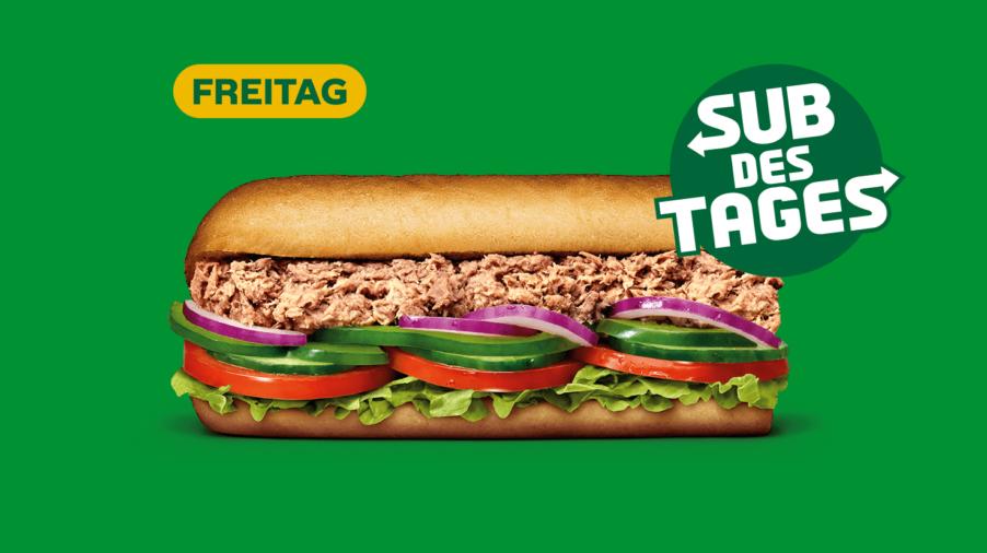 Subway Sandwich - Tuna