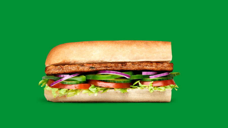 Subway Sandwich - Veggie Patty
