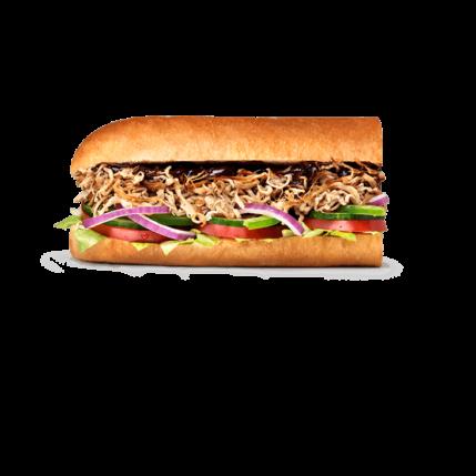 Subway Sandwiches - Pulled Pork