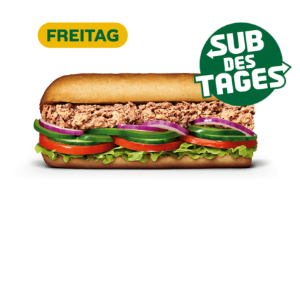 Subway Sandwich - Tuna