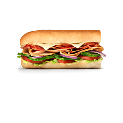 Subway Sandwich - Turkey, Ham & Bacon Melt