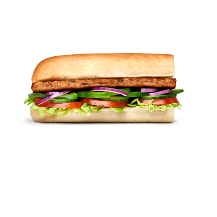 Subway Sandwich - Veggie Patty