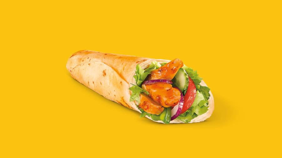 Subway Sandwich - Wrap