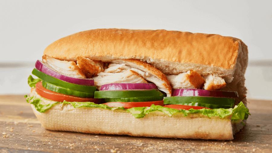 Rotisserie Flavoured Chicken Sandwich Header