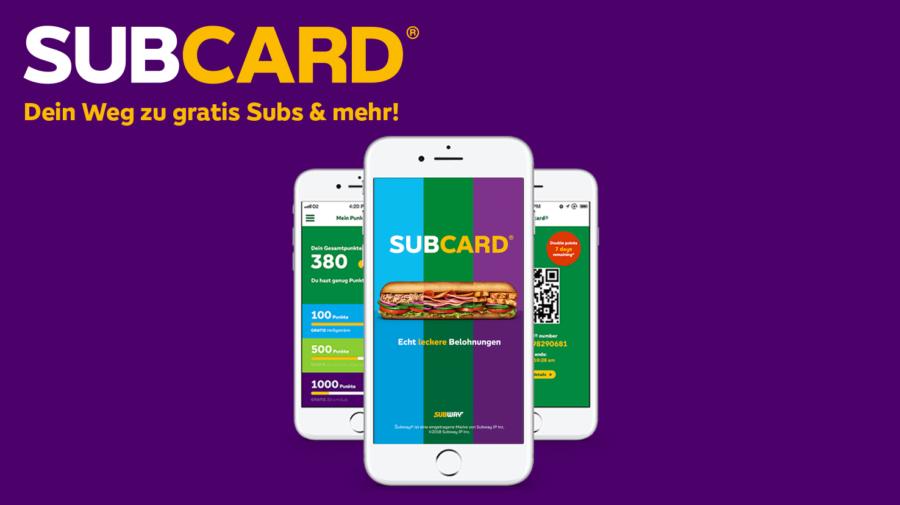 subway karte aktivieren Subcard – Dein Subway® subway karte aktivieren