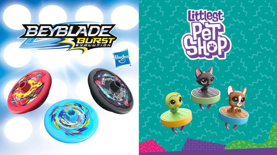 Kids Pak - Beyblade - Littlest Pet Shop
