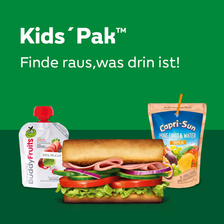 Kids' Pak™ - Finde raus, was drin ist!