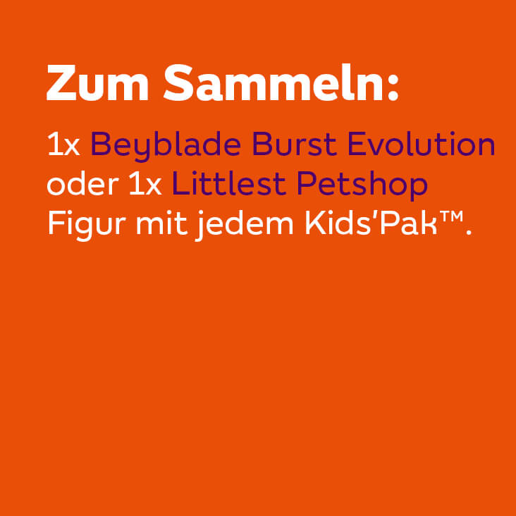 Kids' Pak™ - Sammelfigur