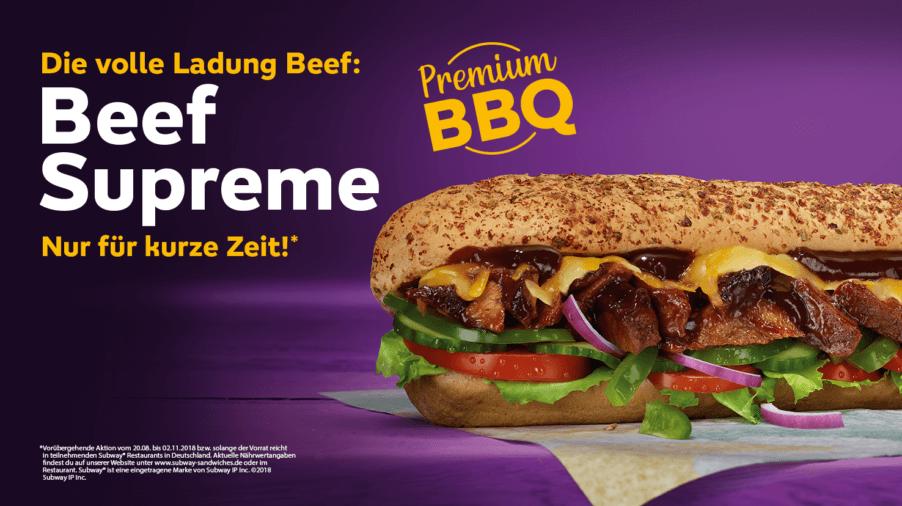Beef Supreme Sub