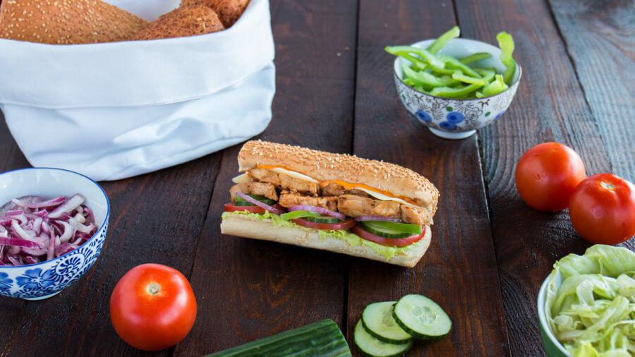 Subway Chicken Teriyaki