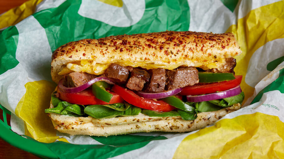 Subway Beef Supreme Kombination
