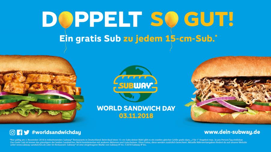 World Sandwich Day 2018