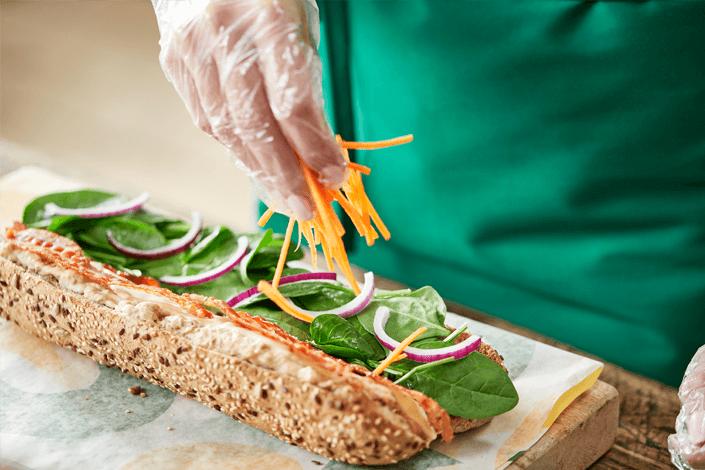 Sandwich Artist belegt Sub