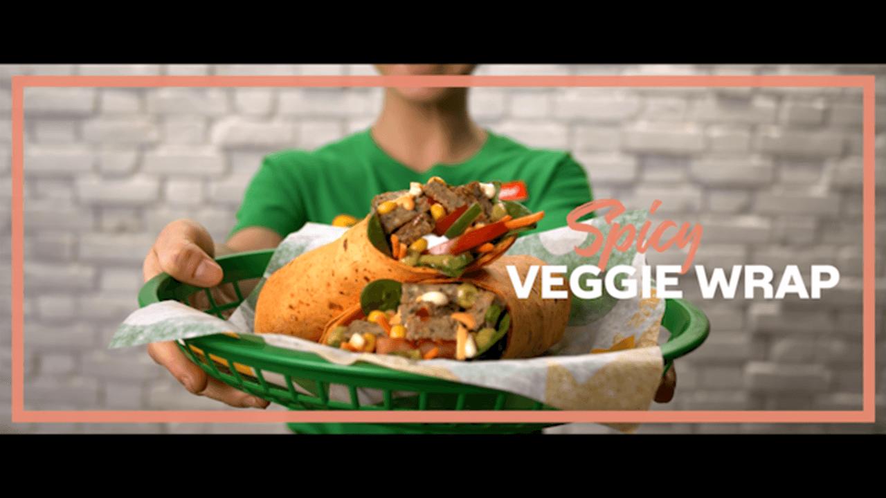 Sandwich Artist Andrea Veggie Wrap Thumbnail