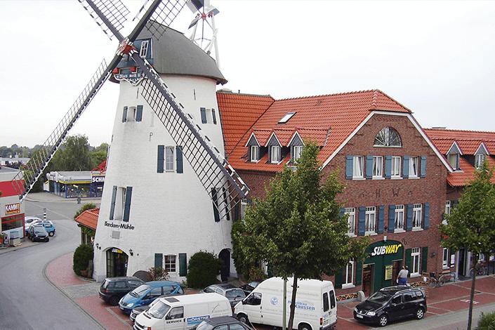 Subway in einer Mühle in Erkelenz
