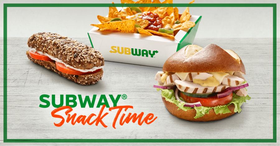 Die neuen Subway Snacks