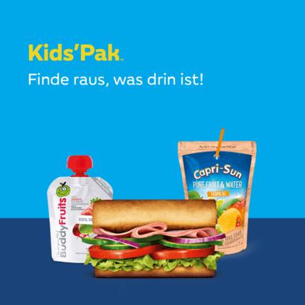 KidsPak- finde raus was drin ist