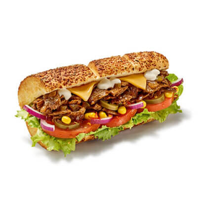 Subway - Philly Beef & Cheese - Produkt