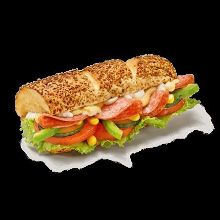 Subway - Salami - Produkt