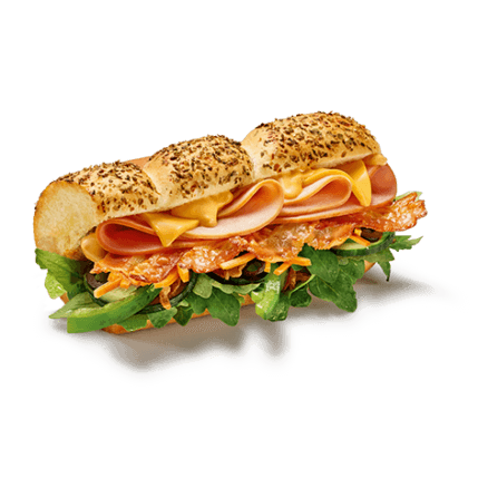 Subway - Turkey, Ham & Bacon Melt - Produkt