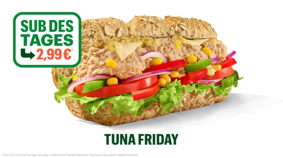 Subway - Sub des Tages - Tuna